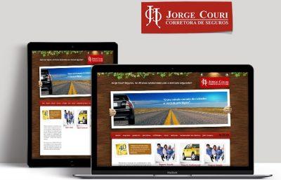 Desenvolvimento de Site Jorge Couri Seguros