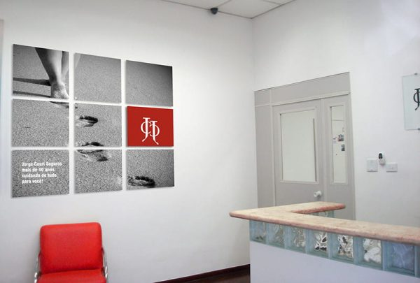 Comunicação Visual Jorge Couri Seguros